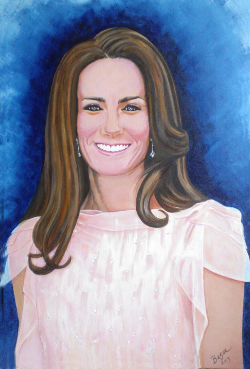 """Unofficial"" Portrait of Princess Kate"